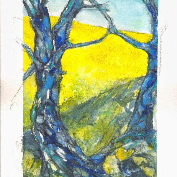 Rapsodie (2) Blauer Baum