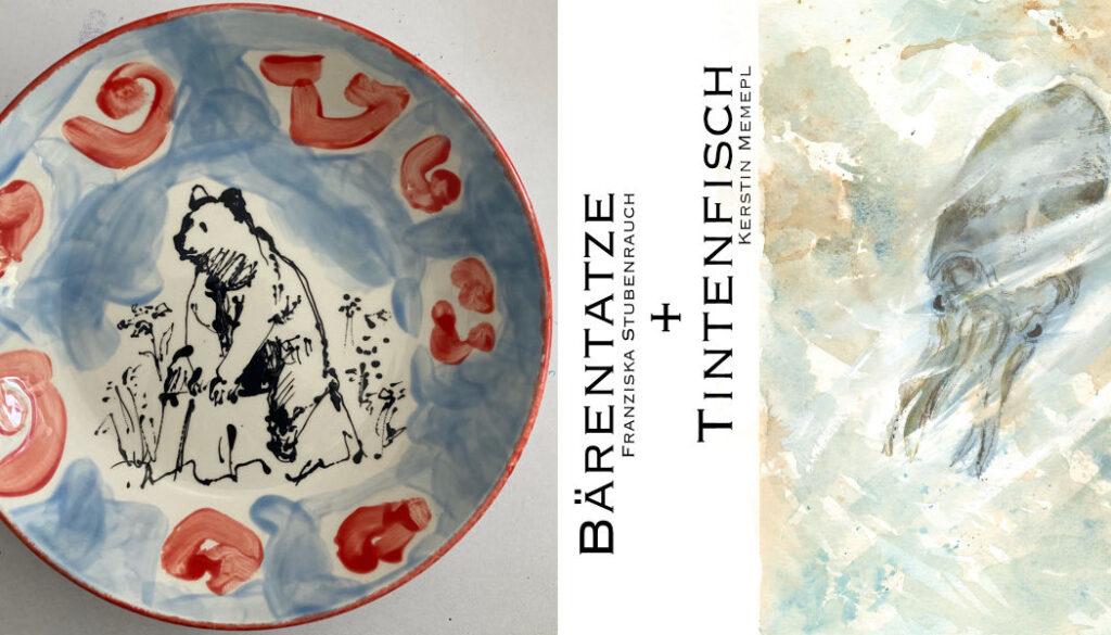 Bärentatze und Tintenfisch